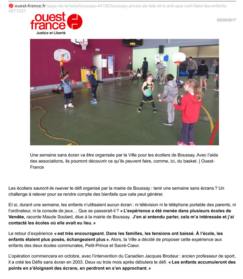 ouest france 2017