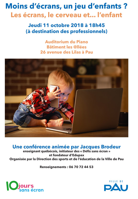 Affiche conference pro